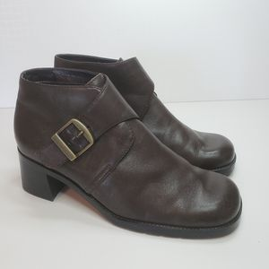 🐞 Bass Vintage Carson II Ankle Boot Size 7.5